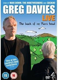 Greg Davies - The Back Of My Mum's Head - Live
