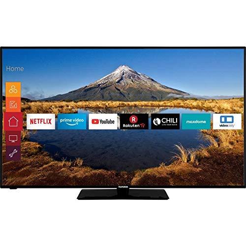 TELEFUNKEN D55U446A LED-TV 139cm 55 Zoll EEK A+ (A+++ - D) DVB-T2, DVB-C, DVB-S, UHD, Smart TV, WLAN