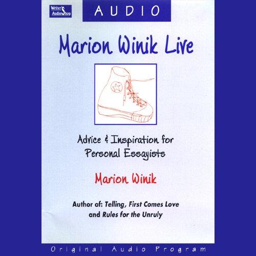 Marion Winik Live cover art