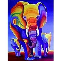 1000ピースカラフルな象子供のためのジグソーパズルジグソーパズル大規模なパズルゲーム