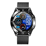 Smartwatch Fitnessuhr Fitness Tracker 1.28 Voller Touch Screen Smart Watch IP68 Wasserdicht Fitness Uhr Mit Bluetooth Telefonieren Damen Herren Armbanduhr Pulsmesser Sportuhr Für Ios Android,Blau