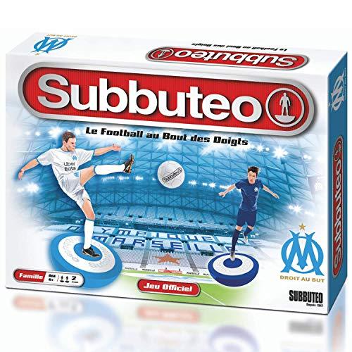 Megableu Edition Subbuteo Olympique DE MARSELELLA - Juego de Mesa - Vive la pasión del fútbol - A Partir de 6 años, 678267