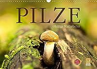 Pilze - fleissige Waldarbeiter (Wandkalender 2022 DIN A3 quer): Sie heissen Satan, Schweinsohr, Fliegen oder Knollenblaetter: Pilze. (Monatskalender, 14 Seiten )