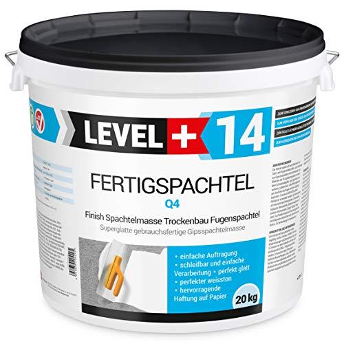 20 kg Fertigspachtel Spachtelmasse Glättspachtel Fugenspachtel reinweiss Weiß RM14