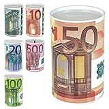 TW24 Spardose Euro Design mit Größenauswahl - Sparbüchse - Sparschwein - Euroschein Dose - Kinder...