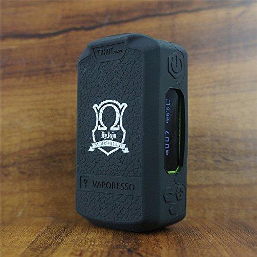 ModShield for Vaporesso Tarot NANO 80W TC Silicone Case ByJojo Skin Sleeve Cover Wrap Shield (Black)