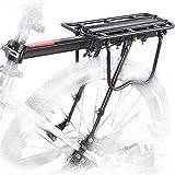 comingfit 110LBS Capacity Adjustable Bike Luggage Cargo Rack