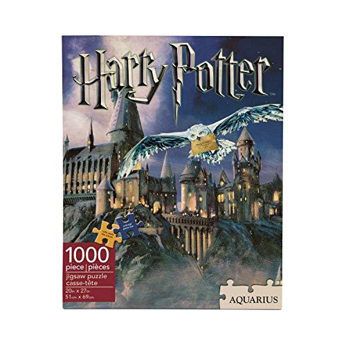 Aqua Harry Potter Hogwarts 1000 rompecabezas pieza del puzzle 690mm x 510mm (nm)