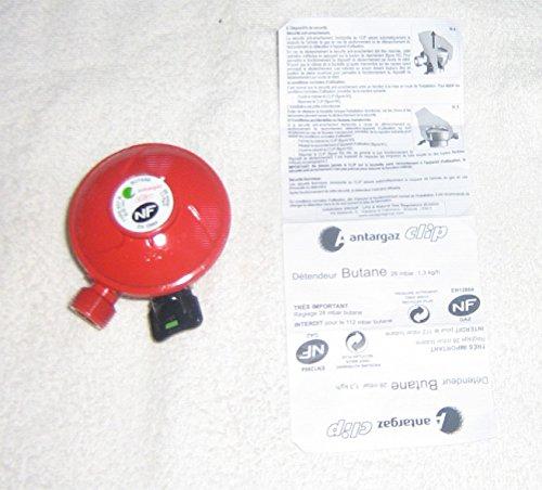 Antargaz Clip Detendeur BUTANE 28 mbar 1,3g/H diametre 20 CALYPSO ELFI