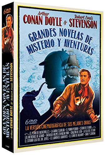 Pack Grandes Novelas de Misterio y Aventuras [DVD]