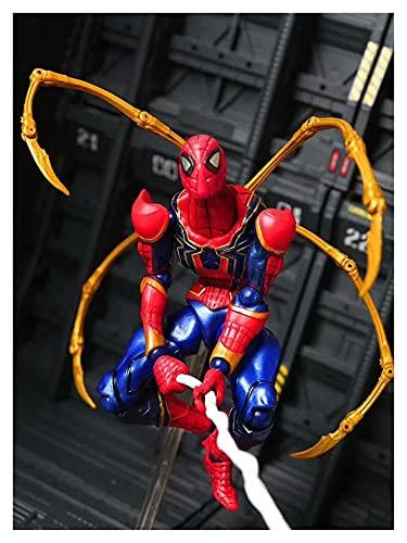 JSJJAUA Figura de acción Yamaguchi Hierro araña Hombre araña Hombre articulado articulado movible acción Figura Modelo Juguetes muñeca (Color : No Retail Package)