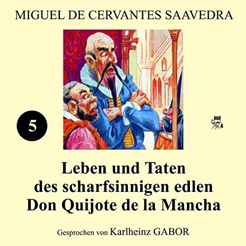 Couverture de Leben und Taten des scharfsinnigen edlen Don Quijote de la Mancha 5