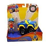 Rev & Roll – Coche Juego Best Buddies – Vehículo Rumble de 17 cm con Funciones mecánicas y su Figura Rev de 10 cm – Juguete del Dibujo Animado Rev & Roll – Juguete para niños de 3 años y más