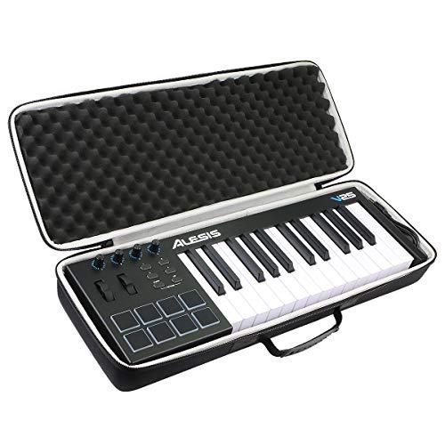 khanka Duro Viaje Estuche Bolso Funda para Alesis V25 Teclado controlador USB-MIDI(caja...