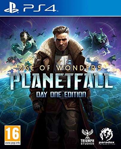 Koch Media Age of Wonders: Planetfall Day One Edition, PS4 vídeo - Juego (PS4, PlayStation 4, TBS (Turn Estrategia de Base), Modo multijugador, T (Teen))
