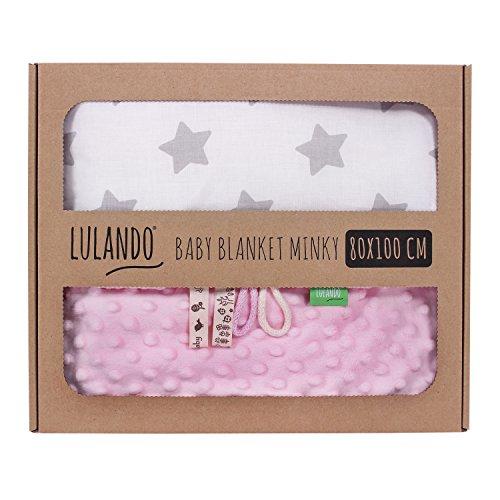 LULANDO Copertina da neonato Coperta per bambino 100% cotone...