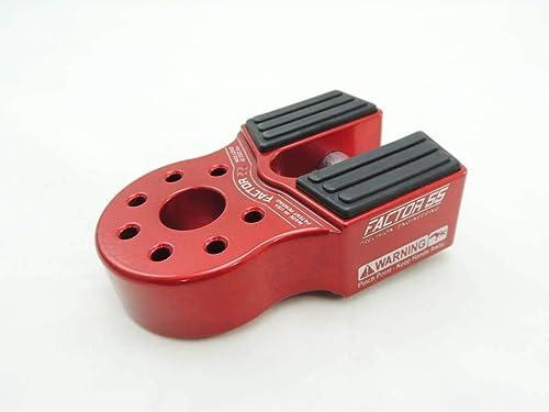 Factor 55 FLATLINK Winch Shackle Mount - RED