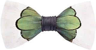 c0b829b09aef Brackish Feather Pre-tied Bow tie - Roosevelt (148-BRK)