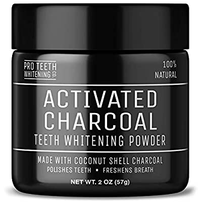 Activated Charcoal Teeth Whitening Powder | Pure Beauty Award Winning Product By Pro Teeth Whitening Co.