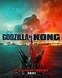 Godzilla vs. Kong - Poster cm. 30 x 40