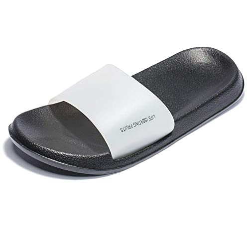 cdb69965f0eb Fendou Slides for Women House Sandals Pool Slides for Women Anti-Slip Bath  Slipper Shower