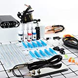 Wanna Tattoo Kit for Beginners Tattoo Power Supply Kit 4pcsTattoo Ink...