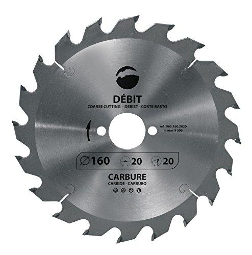 Leman 965.230.3020 Sierra circular para corte de madera, naranja, 230 x 30 mm, 20 dientes