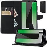 MOELECTRONIX Buch Klapp Tasche Schutz Hülle Wallet Flip