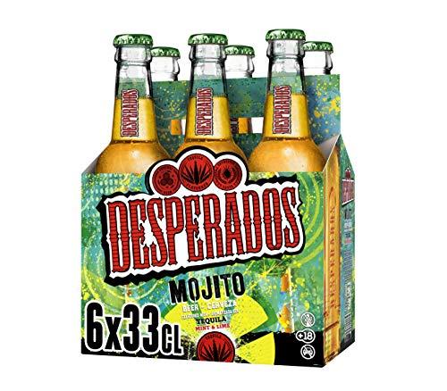Desperados Mojito Cerveza, 6 x 330ml