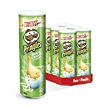 Pringles Sour Cream & Onion Crisps, 200g (Pack of 6)