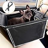Toozey Hunde Autositz Rückbank mit Robuste Seiten & Hundegurt, Hundeautositz Hundesitz für Kleine Mittlere Hunde, Wasserdicht Autositzbezug mit Tasche, Extrem Langlebig & Einfach zu...