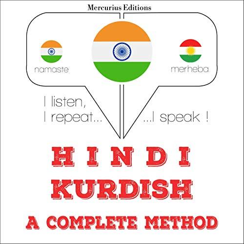Hindi - Kurdish. a complete method audiobook cover art
