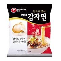 麺の70%がじゃがいもの澱粉,アルカリ性食品 【農心ジャガイモ麺】1BOX(32袋)