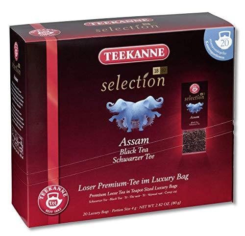 Teekanne (Pompadour 1913) Selection 1882 Assam Black Tea FBOP - 1 x 20 piramides de te (80 gramos)