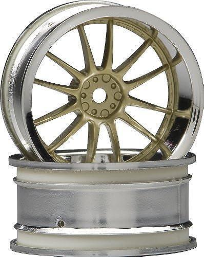 el más barato HPI Racing Racing Racing 3298 Work XSA 02 C Wheels, 26mm, oro and Chrome by HPI Racing  diseño simple y generoso
