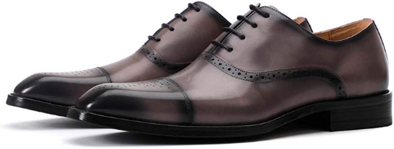 BHPL Lederschuhe, Lederschuhe, Rindslederschuhe für Herren, Business-Business-Schuhe, britische Freizeitschuhe für Herren,C,40  schneller Versand weltweit