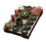 ufengke Kung Fu Set Da Tè Servizio Da Tè Cinese, Modello Crepa Di Ghiaccio, Servizio Da ...