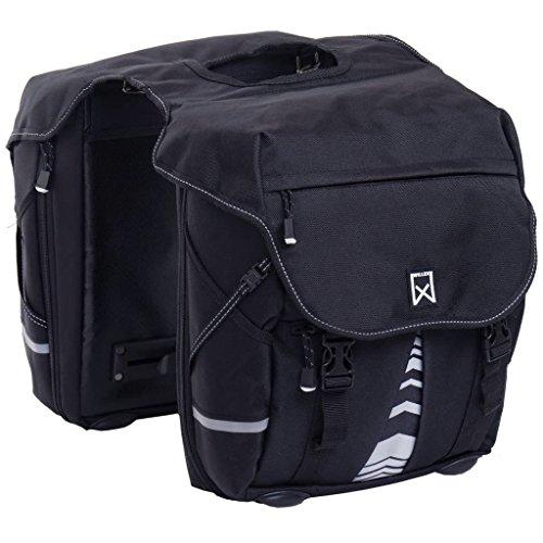 Willex Fahrradtaschen XL 1200 50 L Schwarz 13611