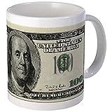 CafePress 100 Dollar Bill Mug Unique Coffee Mug, Coffee Cup