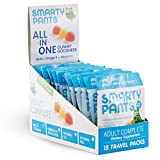 SmartyPants Adult Complete Gummy Vitamins: Multivitamin & Omega 3 DHA/EPA Fish Oil, Methyl B12, Vitamin D3, 15 count (15 Day Supply)