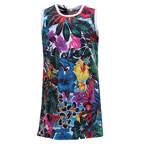 DSQUARED2 2032Y Vestito Bimba Girl Abito Multicolor Dress [4 Years]