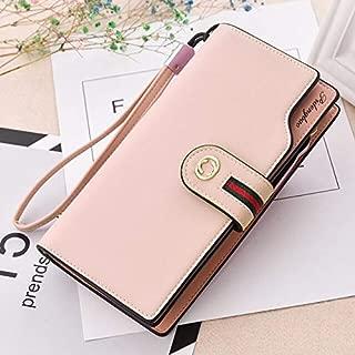 Fashion Women Wallets Drawstring Leather Wallet Women Long Design Purse Leather hasp Clutch Wallet Purse Bolsas