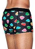 Happy Socks Strawberry Trunk Pantaloncini, Multicolore (Multicolour 930), Small Uomo