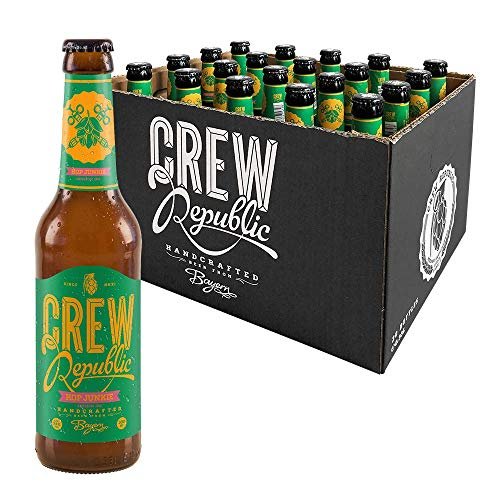 CREW Republic Craft Beer Hop Junkie, Session IPA India Pale Ale (20 x 0,33 l)