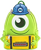 Loungefly Disney Monsters Inc Mike Wazowski Scare Cosplay Womens Double Strap Shoulder Bag Purse