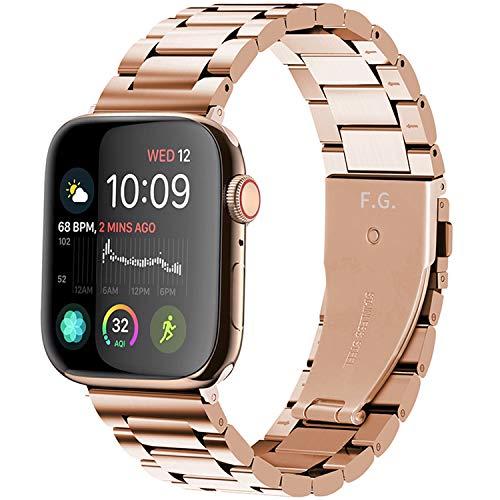 Fullmosa Acero Inoxidable Correa Compatible Apple Watch/iWatch Serie 5, Serie 4, Serie 3, Serie 2, Serie 1, Apple Watch Correa 38mm 40mm 42mm 44mm