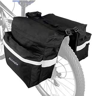 Ationgle Bike Bag Bicycle Trunk Bag Waterproof Bike Saddle Bags for Rear Rack 10-25L Extensible Pannier