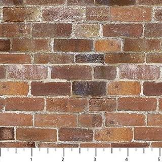 Naturescapes Brick Wall Designer Deborah Edwards Northcott Studio 21395-38