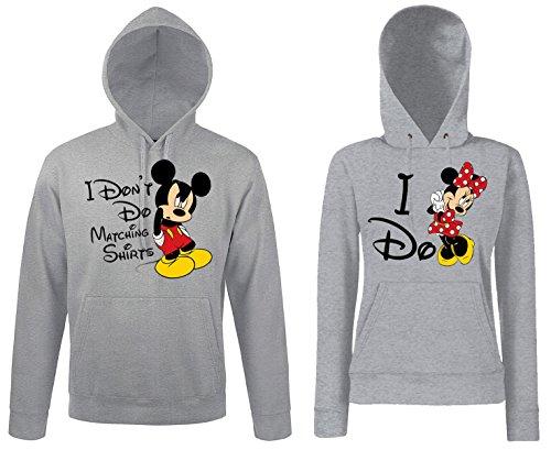 Trvppy Donna Maglione Sweater modello Mini Mouse in molti colori e dimensioni