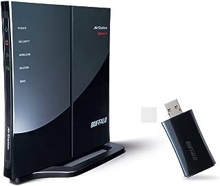 BUFFALO 11n/g/b対応 無線LANルーターセット(USB) WHR-G301N/NU [フラストレーションフリーパッケージ(FFP)]